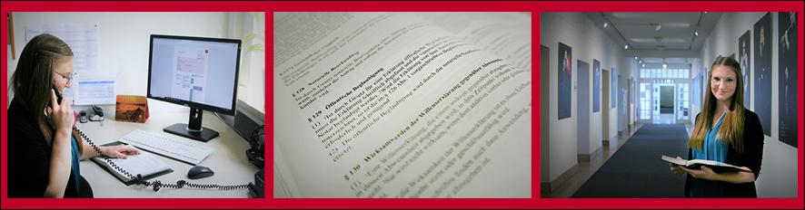 Verwaltung Studium